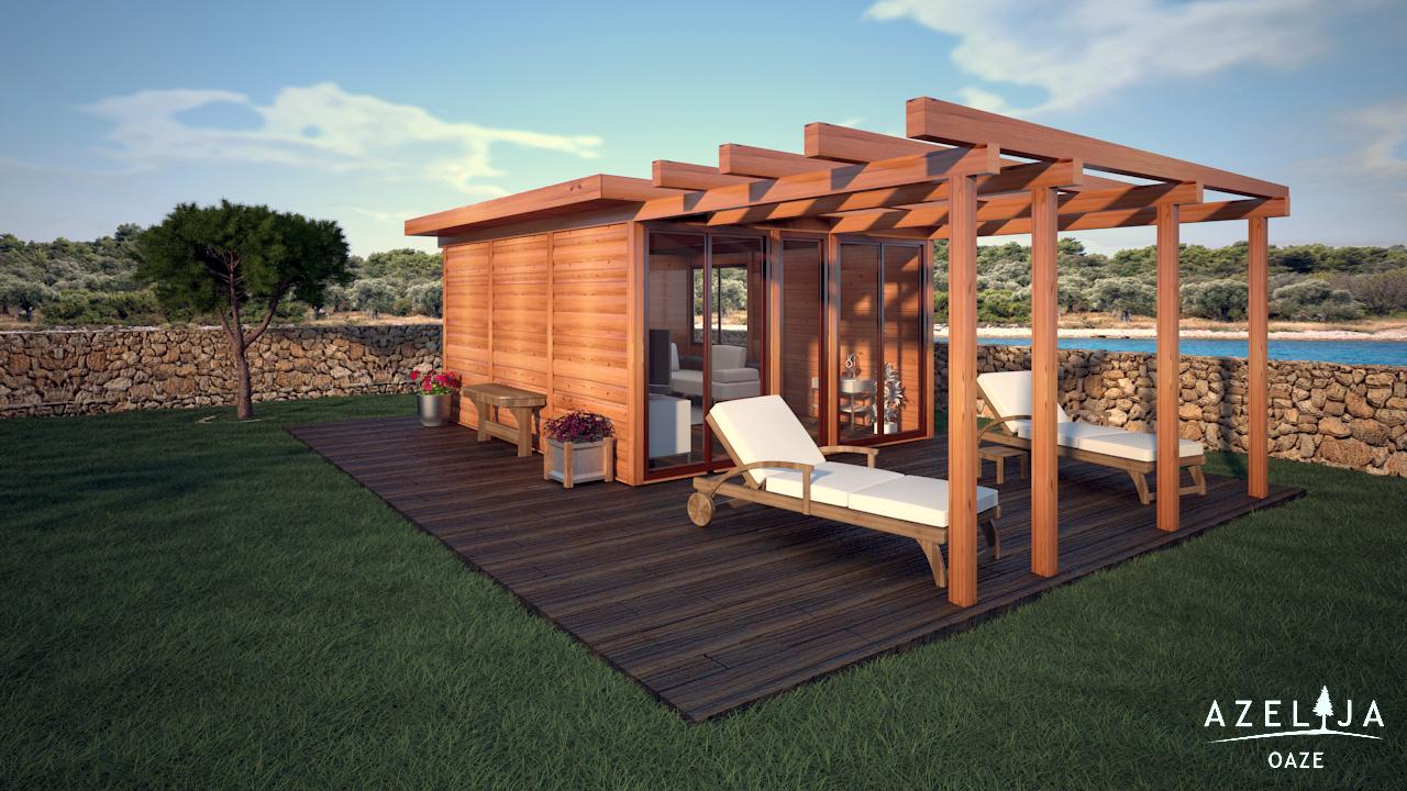 Drvene kuće Azelija - Azelija drvene kuće